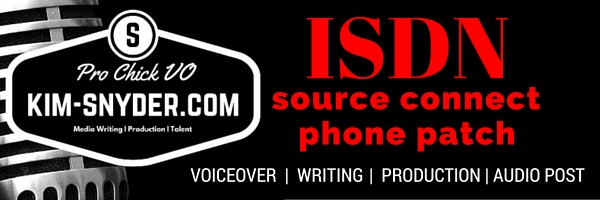 Kim Snyder Media-ISDN, phone patch, Source Connect